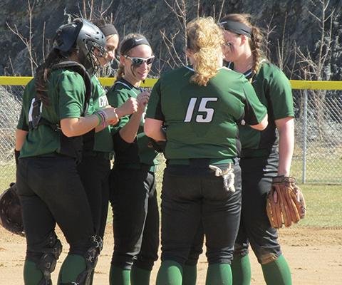 Gators take two from SLC in Skyline softball action