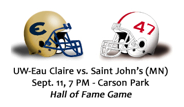 Football Preview: Eau Claire vs. #9 St. John's (MN)
