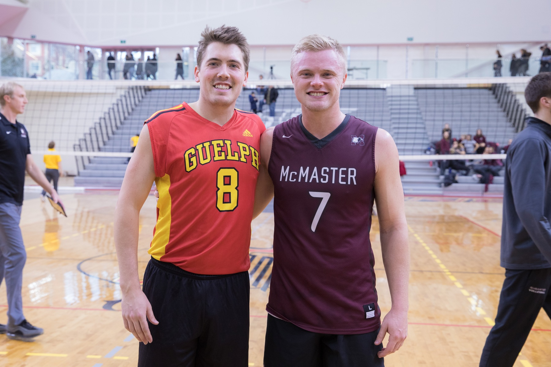 Both Kyle and Andrew's teams play in the OUA West Division and therefore, the brothers have had to face each other twice this season alone and six times over the course of their university careers.