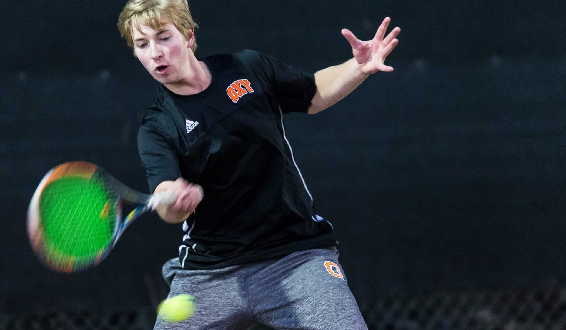 Oxy Men's Tennis Sweeps PLU
