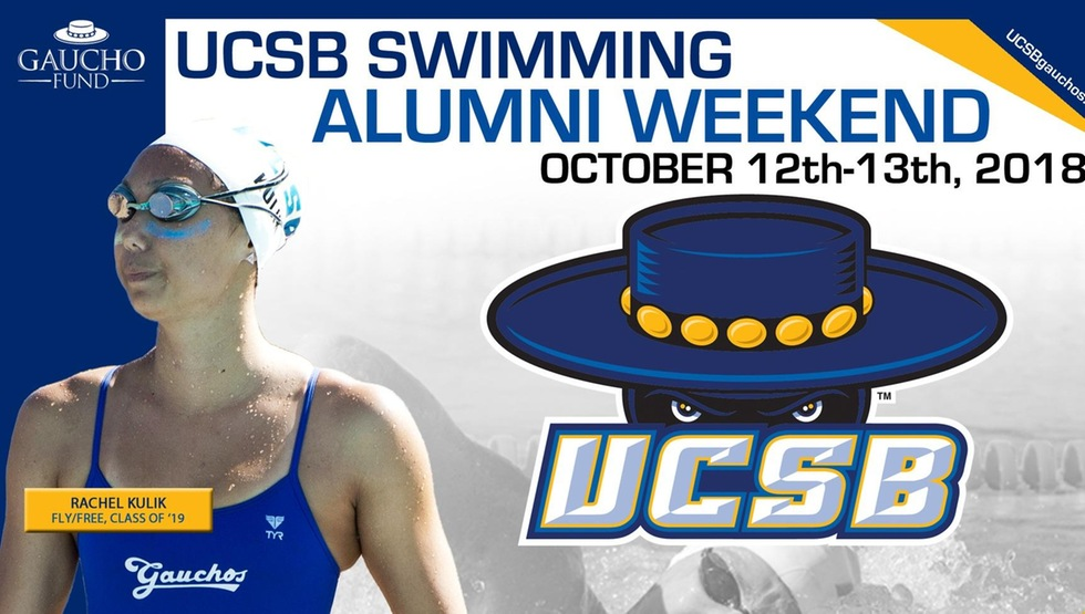 UCSB Swimming Alumni Weekend Set for October 12-13