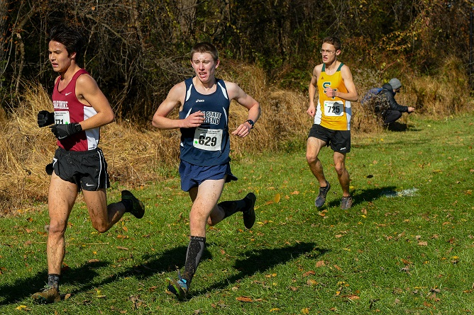 Men's Cross Country Competes at Mideast Regionals Saturday