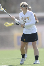 Alicia Krause scored nine goals and 11 points in two wins last week.