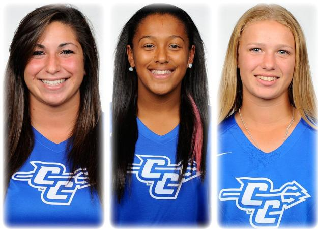 Trio Earns Weekly NEC Awards