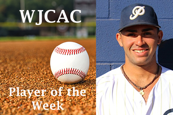 WJCAC Baseball Player of the Week (March 11-17)