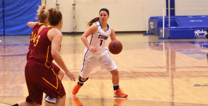 Women's Basketball controls Dominican in lopsided road victory