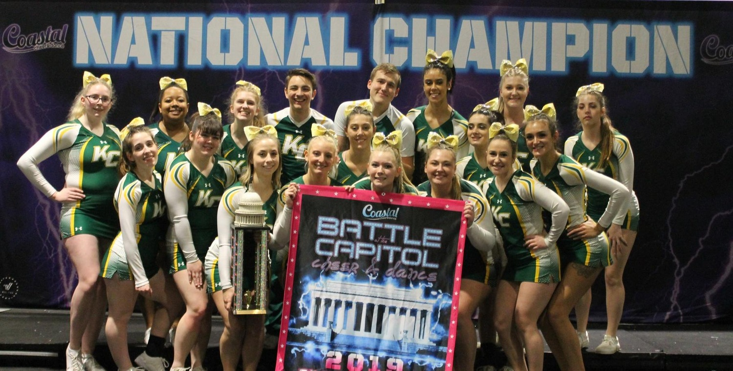 Keuka College Cheerleading Wins Battle at the Capital
