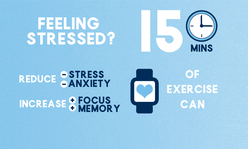 De-stress from your exams in Athletics
