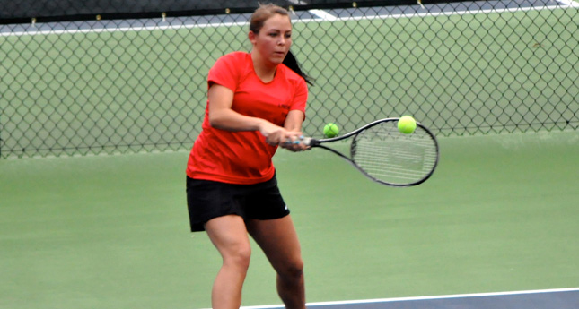 LC Women's Tennis Drops Match to Southern Virginia 8-1