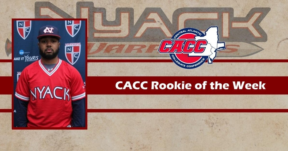Anthony Torreullas Named CACC Rookie of the Week for the second time this season