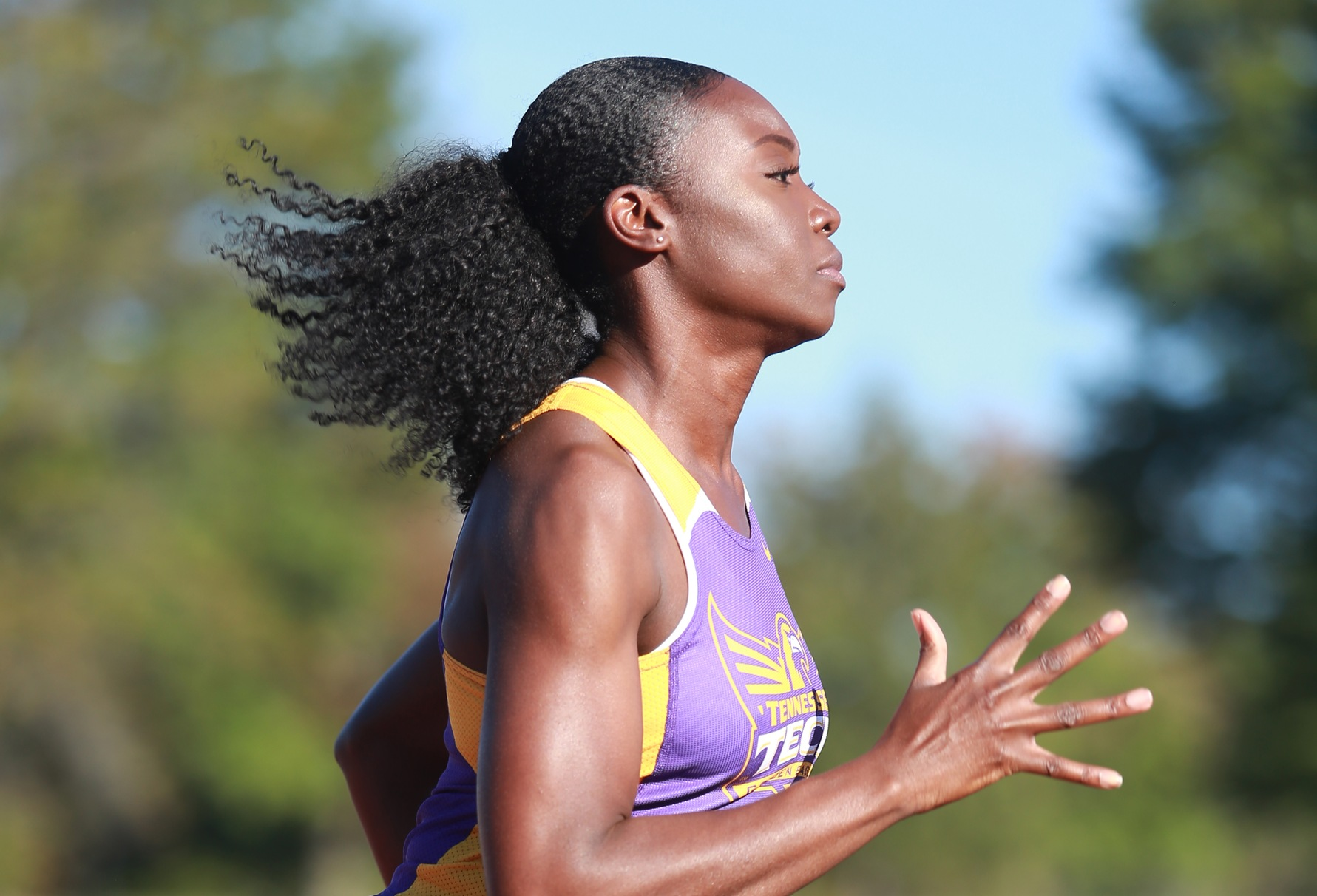 Tech track and field puts together encouraging performance at Jim Green Invitational