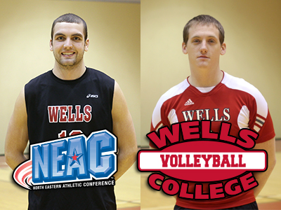 Farruggia, Bayly Sweep NEAC Men's Volleyball Weekly Awards
