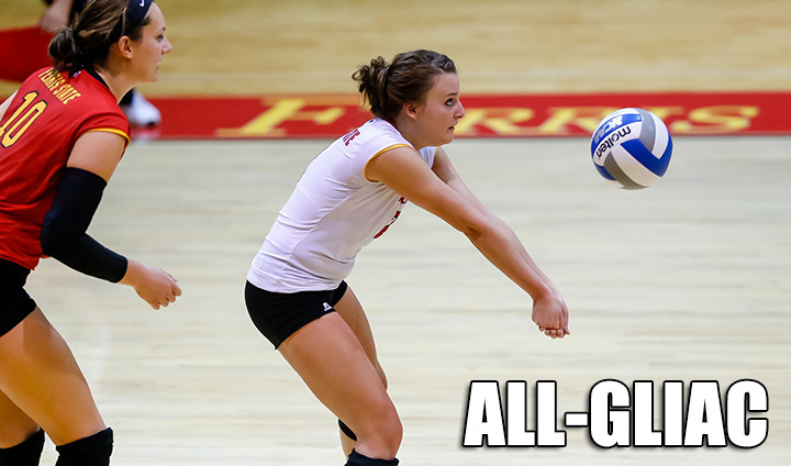 "Four Bulldogs Named All-GLIAC; Merren Tabbed As ""Libero Of The Year"""