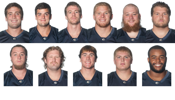 Blugold Football Represented Well on 2012 All-WIAC Team