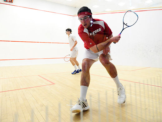 Men's squash to square off against Hopkins in consolation bracket