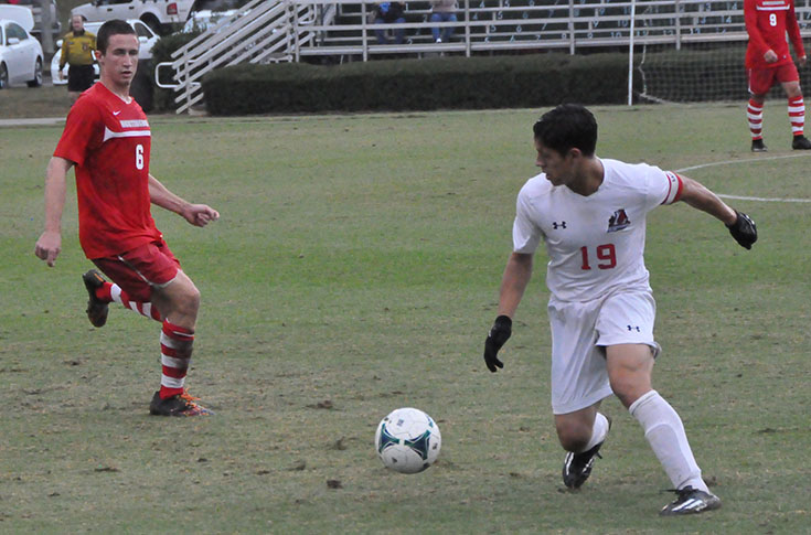 Men's Soccer: Panthers close out season with second half rally to tie Huntingdon 2-2