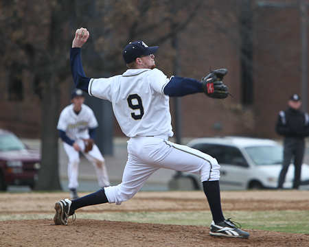 Gallaudet's Ryan Hastings earns NEAC Baseball Pitching Student-Athlete of the Week honor