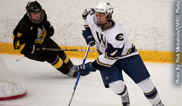 Men's Hockey Takes Down Ranked Rival Stout