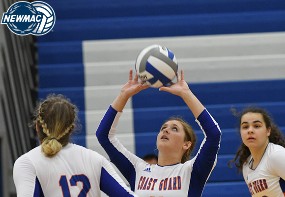 Hine Named NEWMAC Volleyball Defensive Athlete of the Week