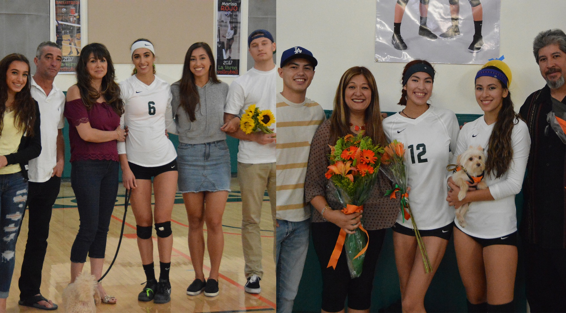 Volleyball beats Poets on Senior Day, earns No. 2 seed