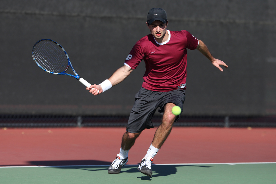 No. 74 Men's Tennis Downs No. 69 New Mexico, 4-1, for Sixth Consecutive Win