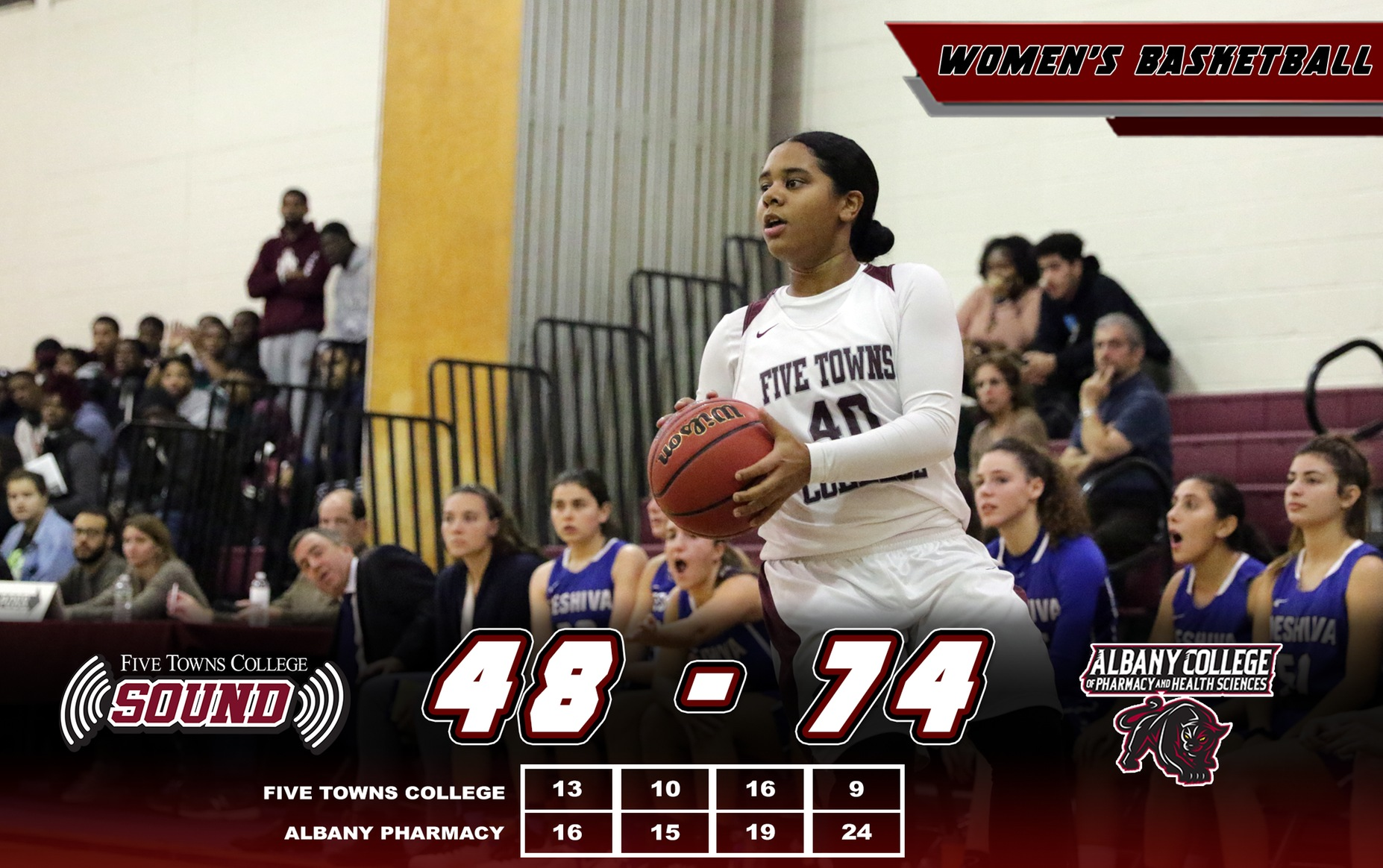 Women's Basketball Falls to Albany Pharmacy on the Road