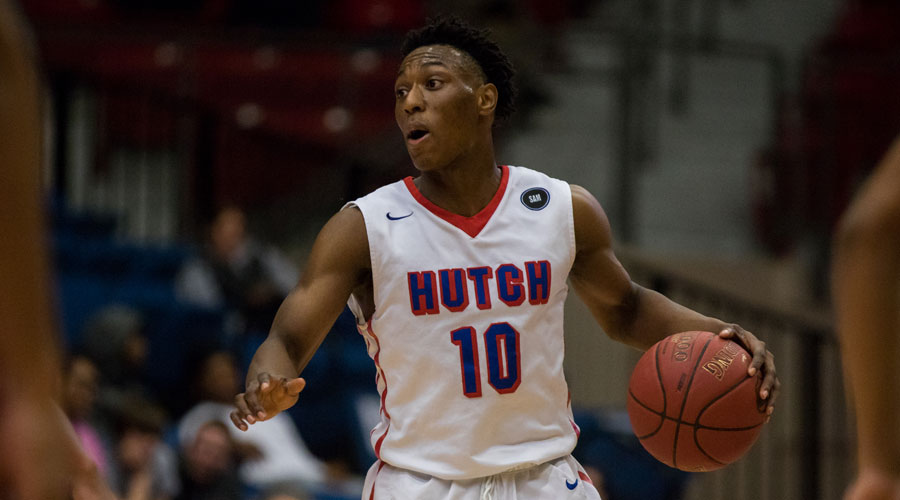 Devonte Bandoo scored 23 points to lead the Blue Dragons to a 77-51 win over Independence on Saturday at the Sports Arena. (Allie Schweizer/Blue Dragon Sports Information)