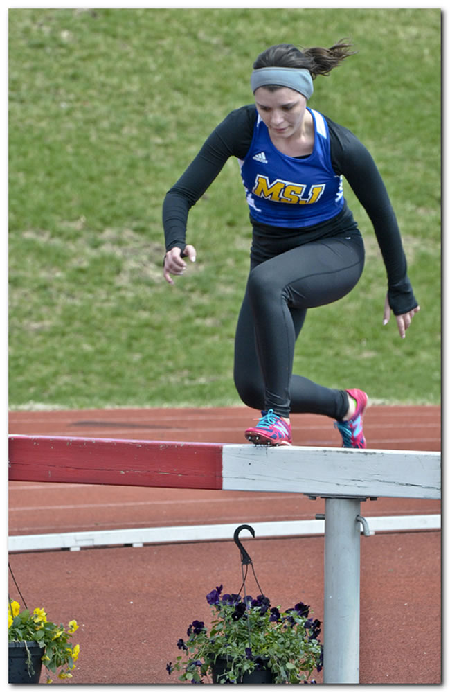 Mount women's track & field squad competes at the ONU Joe Banks Invitational