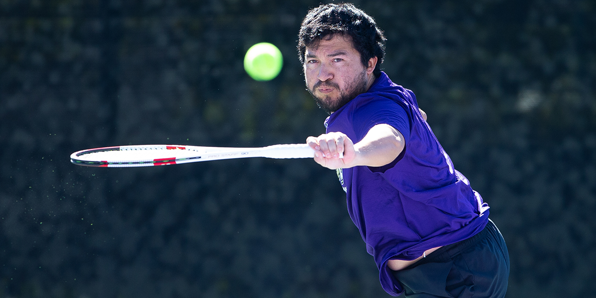 Men's Tennis splits with Rhodes and Hardin Simmons