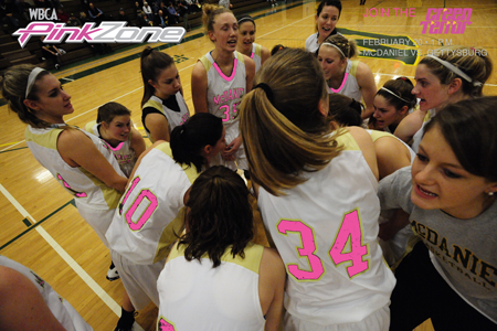 McDaniel to take part in Pink Zone