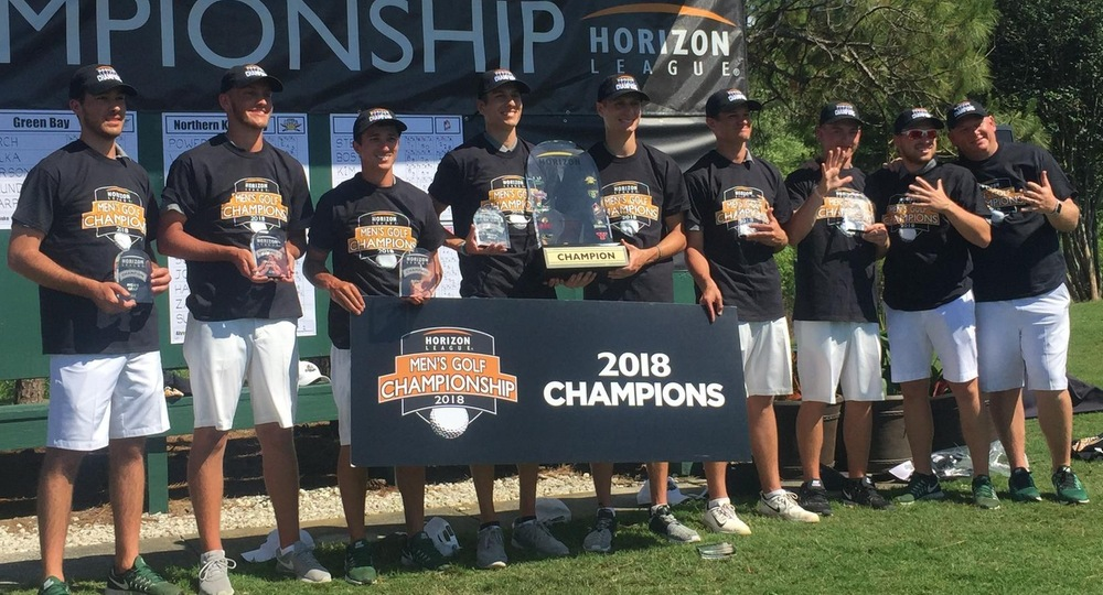 FIVE GOLDEN RINGS: Men's Golf Claims Fifth Straight Horizon League Title