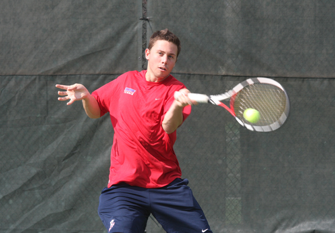 Men's Tennis Falls to Tennessee Tech 4-3