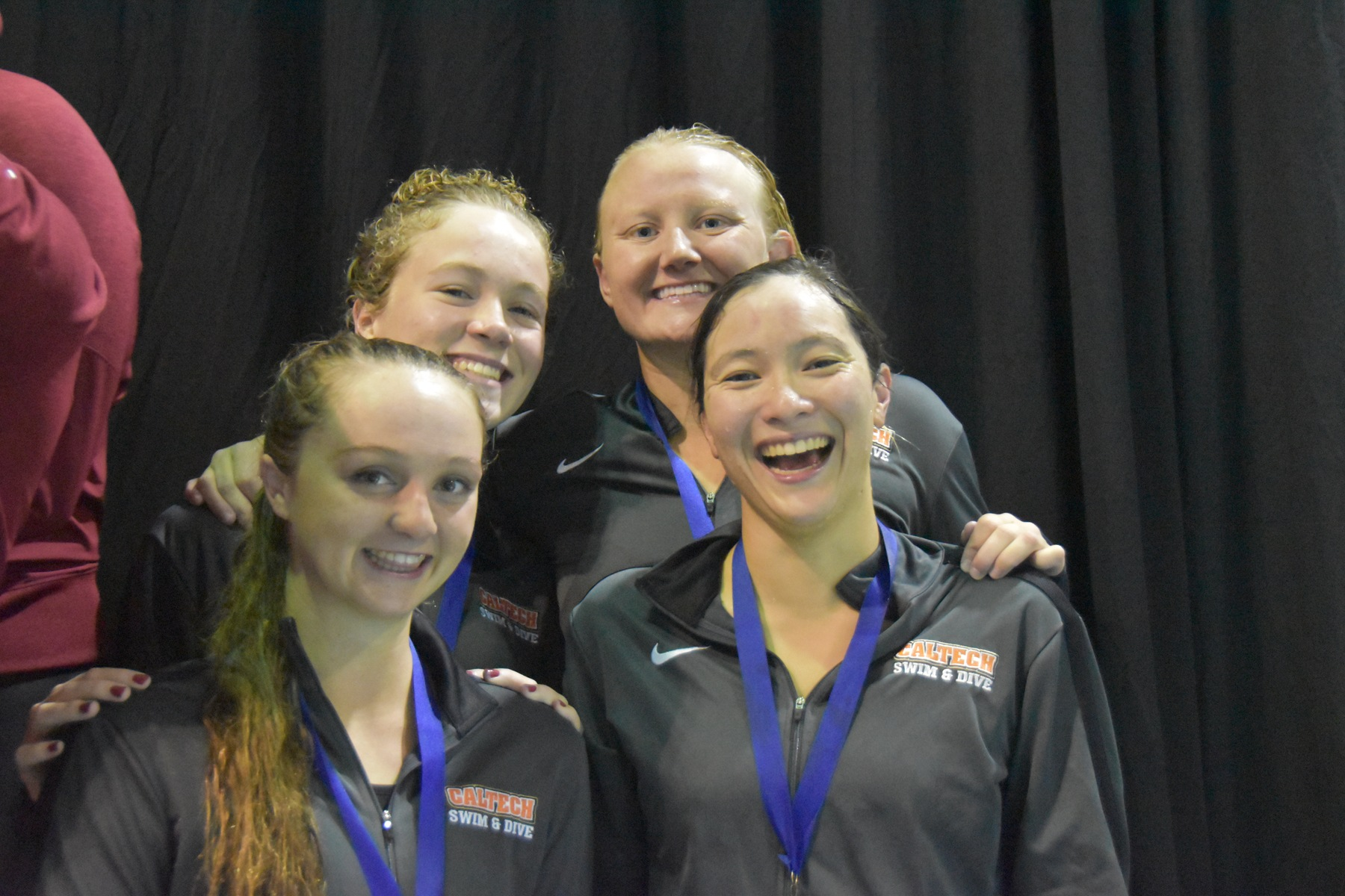 Women's 800 Free Relay Makes Podium, Two Records Fall on SCIAC's Day 1