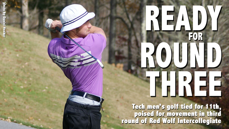 Golden Eagles tied for 11th after two rounds at Red Wolf Intercollegiate