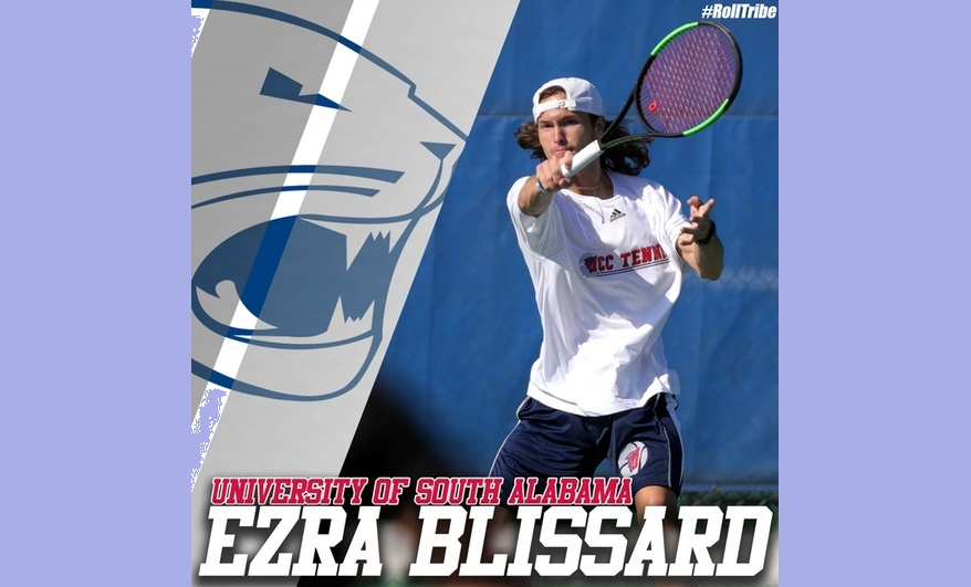 ICC's Blissard to join Sun Belt men's tennis champs