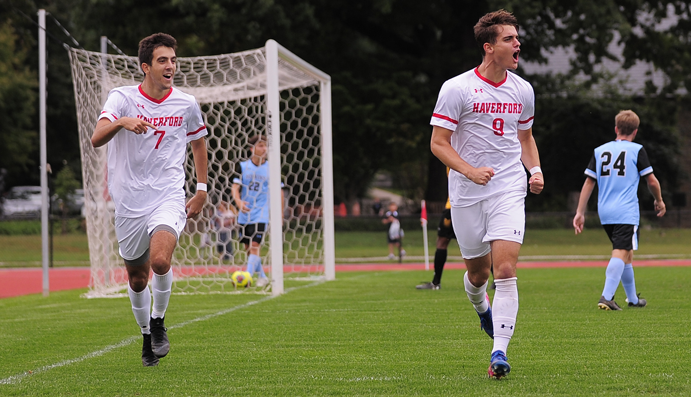 Baroff Buries Dickinson, 1-0, as Men's Soccer Heads to CC Championship Match
