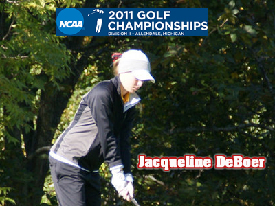 Ferris State's DeBoer Tied For 39th In NCAA Championships Play