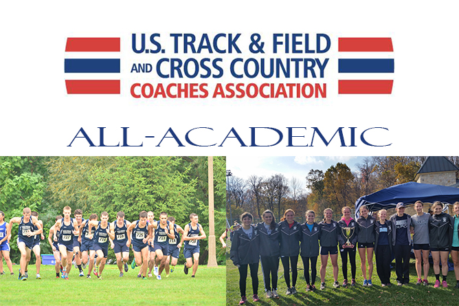 Men's & Women's Cross Country Earn USTFCCCA Team Academic Award