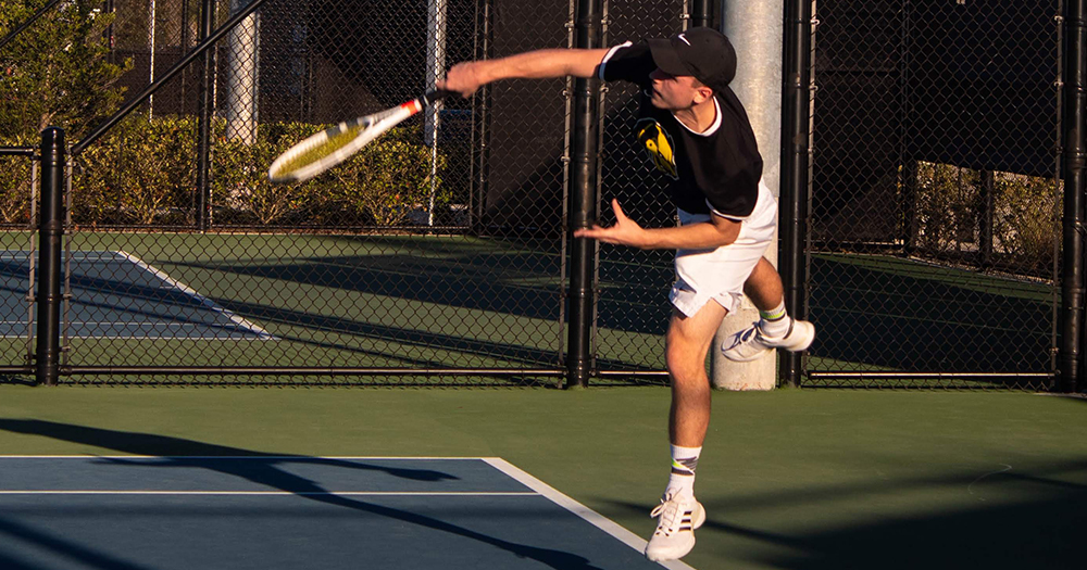 Men's Tennis Opens Conference Play
