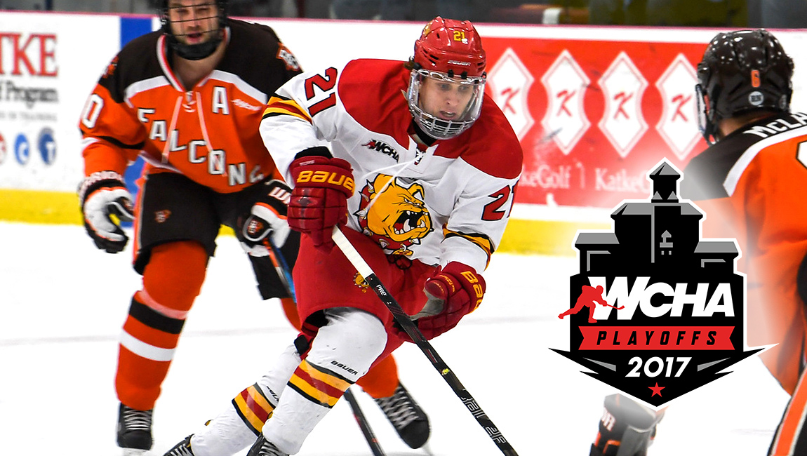PREVIEW: Ferris State Visits Bowling Green For WCHA First-Round Playoff Action