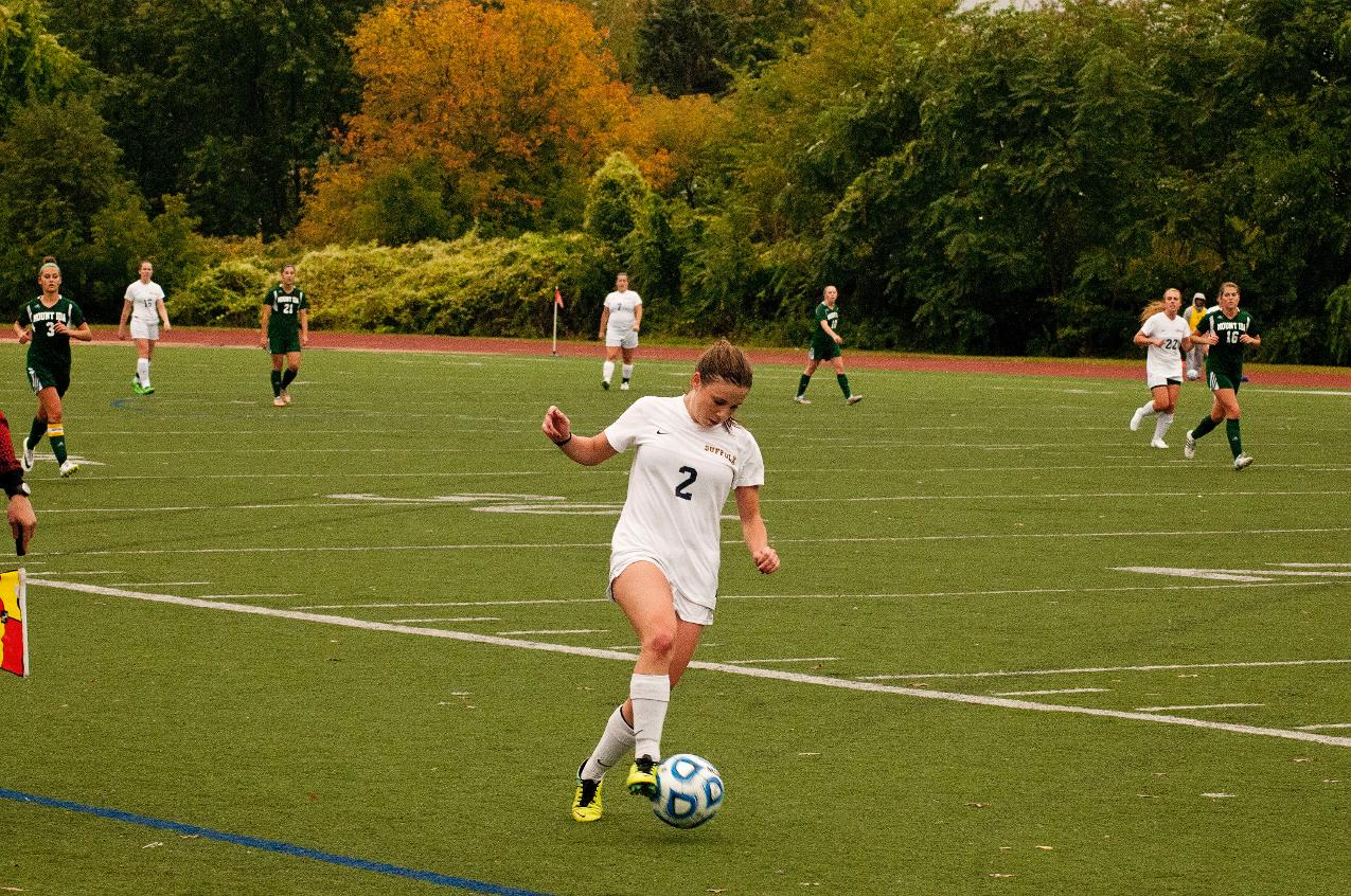 Harmon Strikes Twice as Women's Soccer Top JWU 2-1