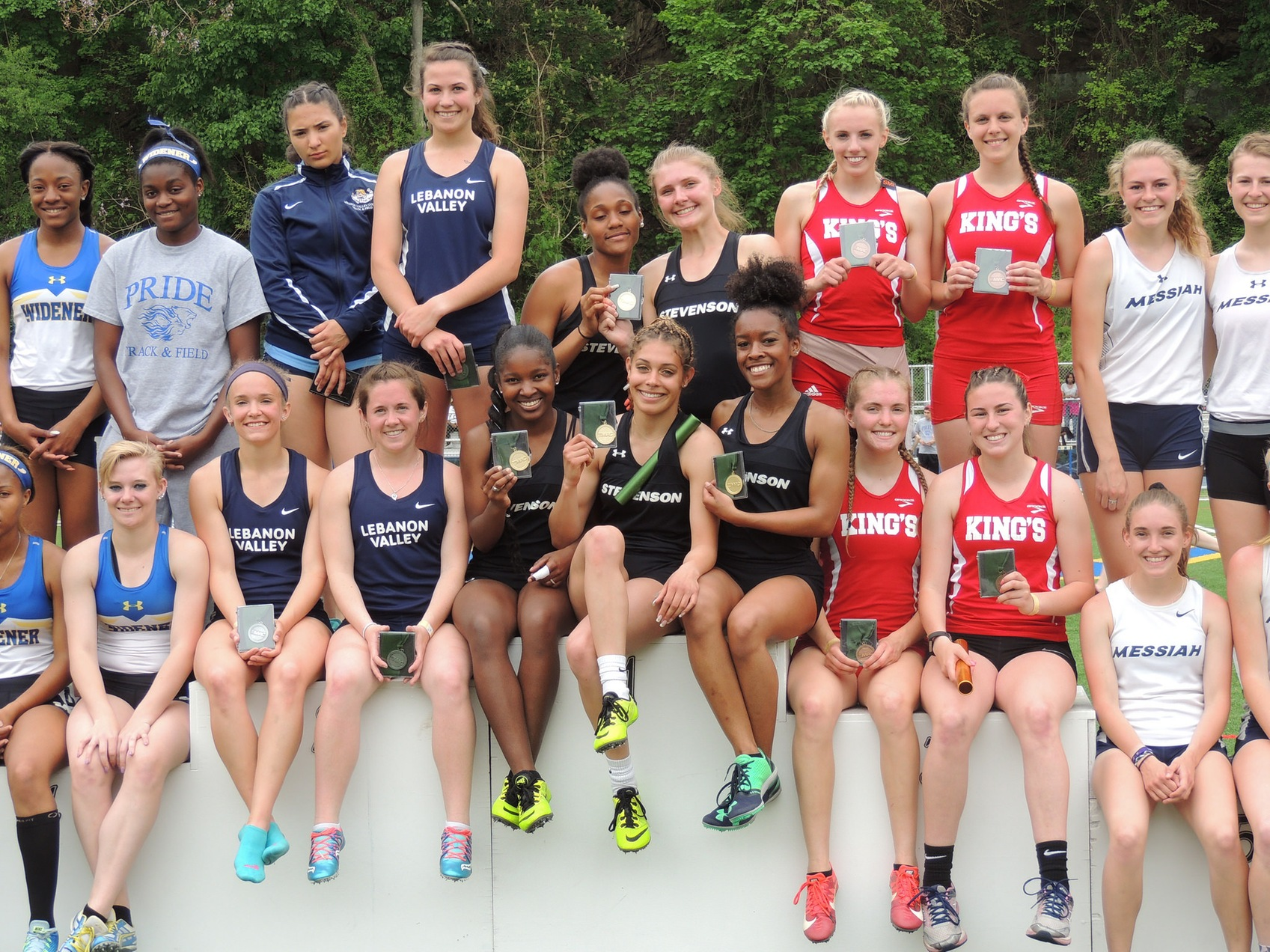 Women's Track Takes Second at MAC Championships, Panek Wins Rookie of the Year honors