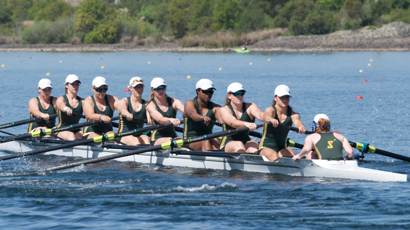 ROWING CONCLUDES SEASON WITH SECOND PLACE FINISH IN DAD VAIL PETITE FINAL