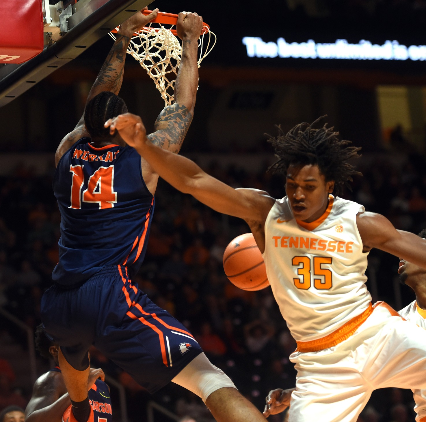 Vols smash the glass in exhibition win over Eagles