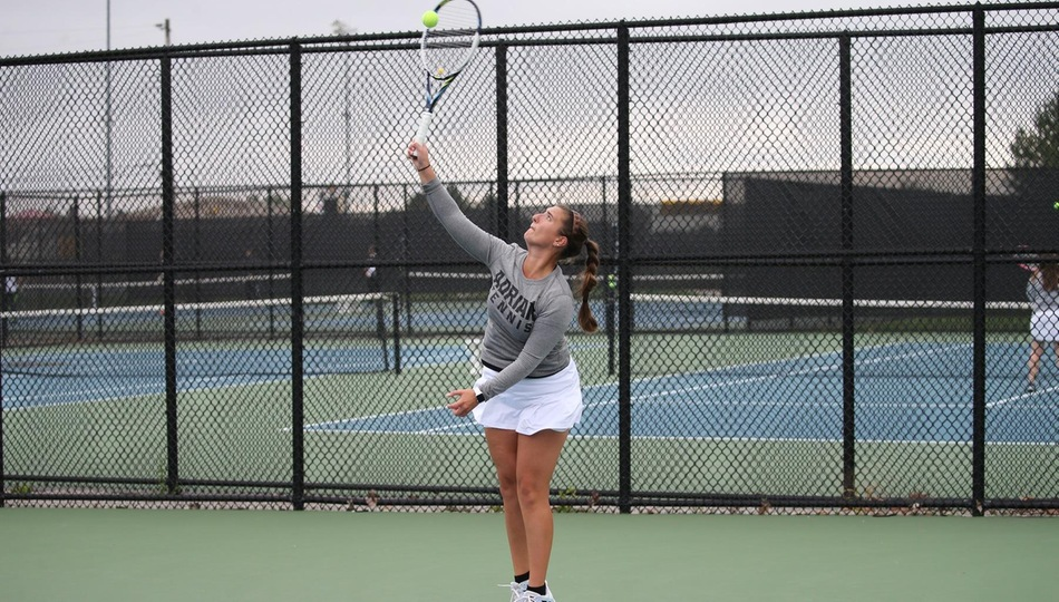 Women's Tennis Opens MIAA Play with Heartbreaking Loss to Trine in Spring Home Debut