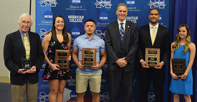 Moravian Honors Senior Student-Athletes at Annual Banquet in Johnston Hall