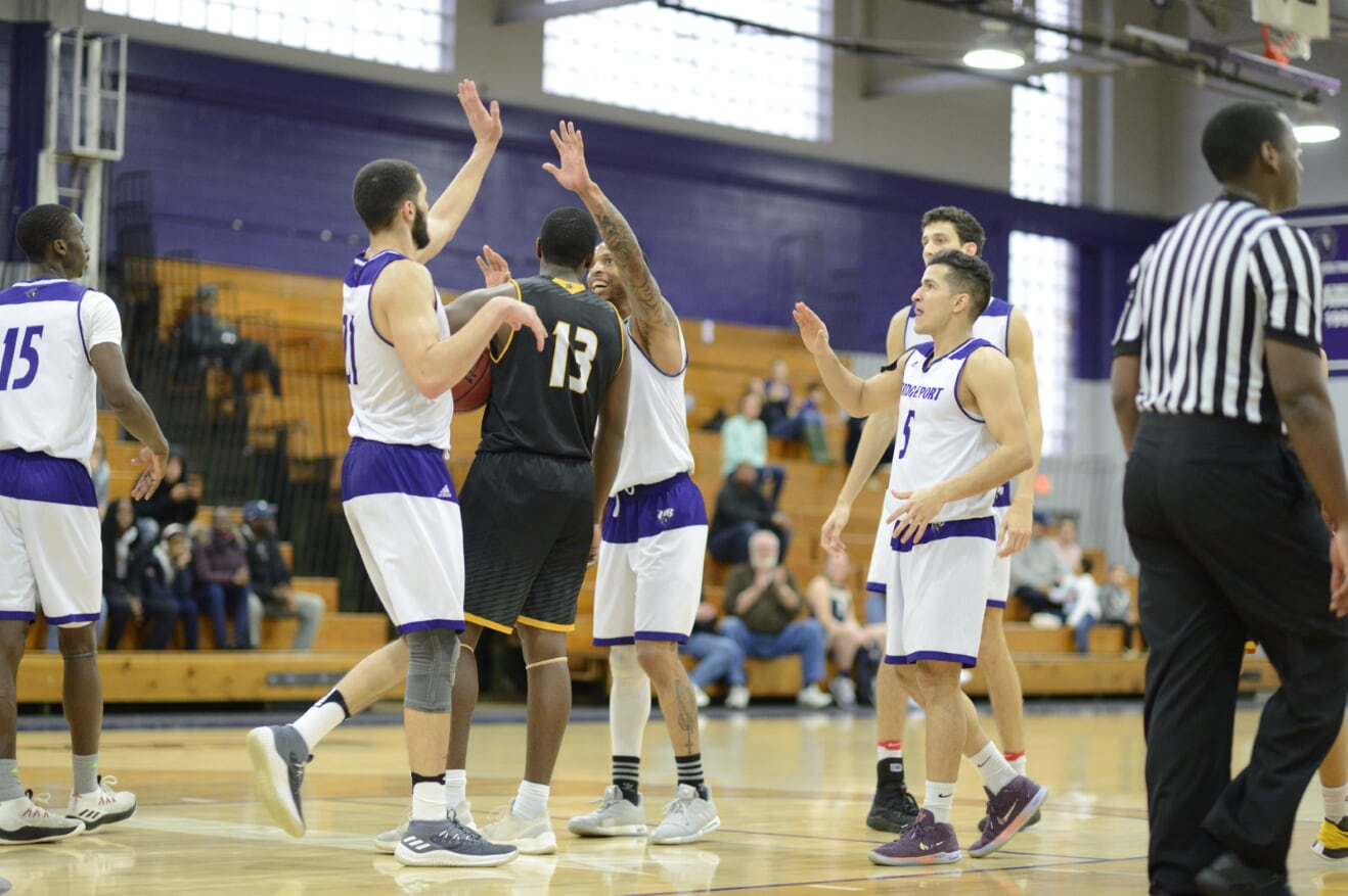 Purple Knights Never Trail As Men's Basketball Defeats Roberts Wesleyan, 90-73