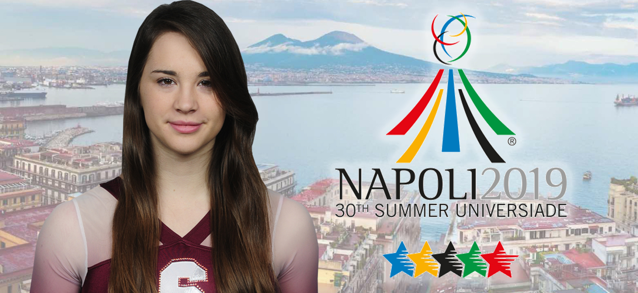 King Competes for Slovenia at 2019 World University Games in Napoli