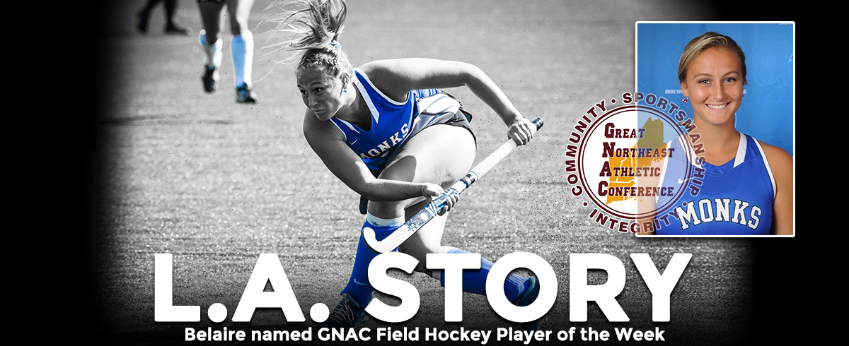 Belaire Tabbed as GNAC Player of the Week