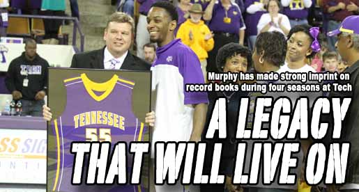 Standout senior season cements Murphy's Tech legacy